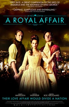 A Royal Affair - well i think it's more like a typical period drama. The story is also been there done that, when a queen having an affair with king's associate, but other than that, this movie have a stunning costume, strong characters, and beautiful picture. 3.5/5.
