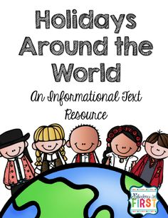 Free Holidays Around the World Informational Writing Packet