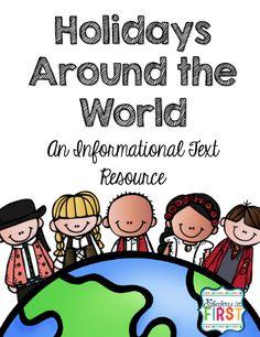 Free Holidays Around the World Informational Writing Packet