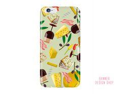 Cheese Samsung Galaxy s7 Case Wine iPhone 6 by BannerDesignShop