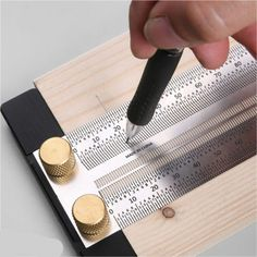 Online Shop High-precision Scale Ruler T-type Hole Ruler Stainless Woodworking Scribing Mark Line Gauge Carpenter Measuring Tool Precision Scale, Work Tools, Tape Measure, Way To Make Money, Gauges, Wood Crafts, Google, Type, Wood