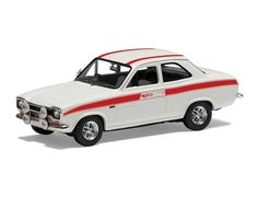 The Corgi Ford Escort Mk1 Mexico, Diamond White, 60th Anniversary is a superbly detailed diecast model car in the Vanguards Collection.
