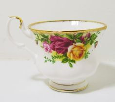 Royal Albert Old Country Roses Fine Bone China Tea Cup in Pottery & Glass, Pottery & China, China & Dinnerware | eBay