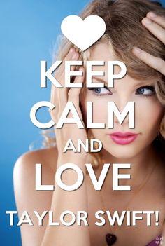 Keep Calm Taylor Swift