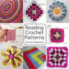 Reading crochet patterns tips for beginners