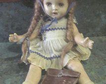 Madame Alexander 13 Inch McGuffey Ana Doll or Arranbee Nancy Doll 1930 Era