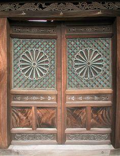 Doors, Kyoto, Japan