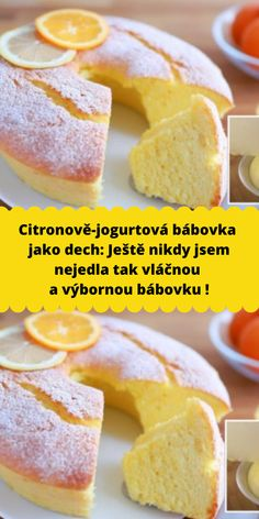 Simply Recipes, Sweet Recipes, Cake Recipes, Dessert Recipes, German Desserts, Sweet Cooking, Czech Recipes, Little Cakes, Food Crafts