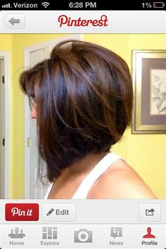 I'd love a shorter version of this bob that will grow into this since it's not long enough now to do this yet