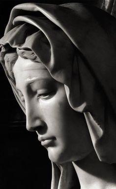 Sculpture Michelangelo Sculpture, Angel Statues, Religious Art, Religious Tattoos, Renaissance Art, Blessed Mother, Croquis, Statue Tattoo, Classical Art