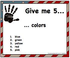 Peanut's peanuts: Warm-ups für den Englischunterricht; Grundschule Englisch; Bildquellen: United States of America flag: http://www.clker.com/clipart-9268.html Hand: http://www.i2clipart.com/clipart-hand-256x256-5abd