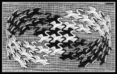 Maurits Cornelis Escher >> pássaros moebius