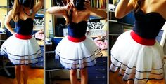 Retro Nautical Dress #howto #tutorial