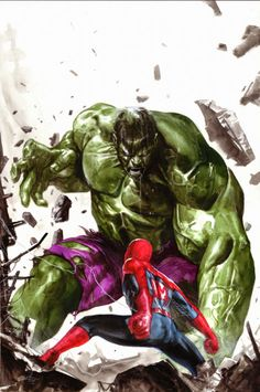 Hulk vs The Web Slinger