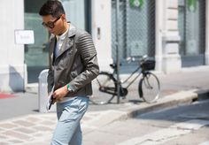 The Best Street Style Looks From Spring 2015 Men's Fashion Week: Rules of Style