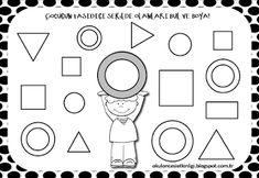 "Training and development of children - ""Fidget"" Training And Development, Preschool Kindergarten, Math Activities, Worksheets, Shapes, Bible, Study, Children, Geometric Fashion"