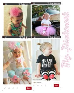 """My Pinterest #5 Baby Girl edition"" by beware-of-lame-jokes on Polyvore"