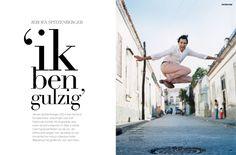 Editorial design JAN Magazine 4-2008 Interview Jeroen Spitzenberger