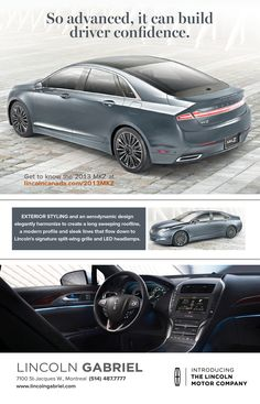 Get to know the new #Lincoln 2013 #MKZ at @ford_gabriel