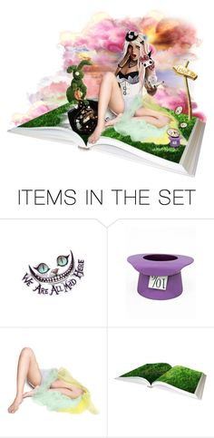 """Wonderland surrelaity..."" by xrissa ❤ liked on Polyvore featuring art"