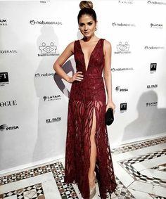 Thassia Naves dando um exemplo de classe e elegância no Brasil Foundation gala!
