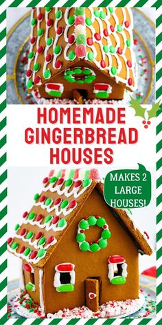 Our Homemade Gingerbread Houses Recipe is more than a recipe; it's a tradition. Ours comes complete with a template. Our recipe costs just $6.95 to make 2 large houses! For more holiday recipes follow Easy Budget Recipes!