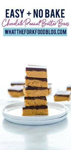 This recipe for simple gluten free chocolate peanut butter bars has all the makings of becoming your new go-to recipe. Not only is it super easy to make but it is also gluten free so you don't have to worry about dietary restrictions. Now combine that with everyone's favorite flavor combo, chocolate and peanut butter, and you've got a winner! Try these out this week, you're welcome in advance!