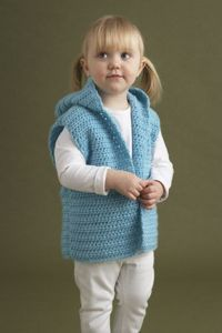 Cute child's crochet vest: free pattern