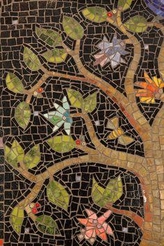closeup tree mosaic by thenatureofmosaica.com