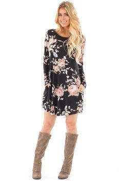 5f3541cc49e4bd Buy Cute Boutique Dresses for Women Online. Long Sleeve ...
