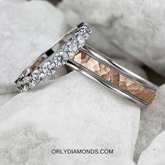 Cool Wedding Rings, Diamond Wedding Rings, Diamond Bands, Wedding Bands, Photo And Video, Accessories, Wedding Band, Wedding Band Ring, Wedding Rings