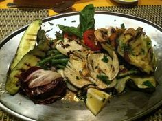 Ristorante Ideale's Grilled Mixed Vegetables