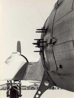 """1965 - Side view of """"Gray Goose"""" - Pleiku SVN http://usafflightcheck.com  https://www.facebook.com/USAF.Flight.Check"""