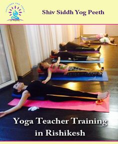 Yoga Teacher Training in Rishikesh India Come and experience the essence of your breathing incorporating it with the asanas in a dynamic way. Enjoy the extensive practice of vinyasa yoga in a very smooth and balanced way. Practicing with our expert and highly experienced trainers will give you the real taste of the asanas and the awaken stage of breathing. http://shivsiddhyogpeeth.com/
