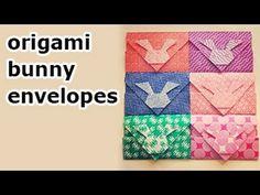 Origami Bunny Envelope.                                                       …
