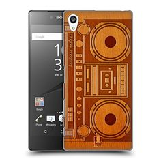 Head Case Designs Boombox Wooden Gadget Hard Back Case for Sony Xperia Z5 Premium  Dual -- Want additional info? Click on the image. (Note:Amazon affiliate link)