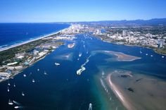 Beautiful Broadwater Gold Coast Queenland. Brought to you by Femme Classic Art http://www.femme-classic-art.com Tags: win trip to Australia pin it! Contest competition