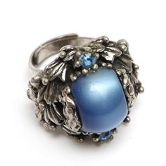 Blue and Silver Selro Ring