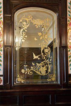 Victorian Reverse Glass « David Smith – Traditional Ornamental Glass Artist