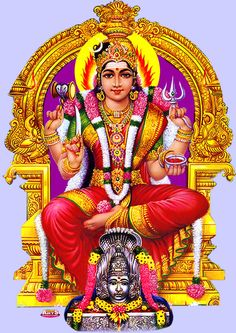 Pin by Eesha Jayaweera on Mariamman in 2019 Shiva Hindu, Shiva Shakti, Hindu Deities, Hindu Art, Indian Goddess, Mother Goddess, Goddess Lakshmi, Durga Images, Lakshmi Images