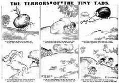 gustave verbeek - The Terrors of the Tiny Tads.  Further surrealist magic...