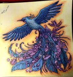"""Hotovo #animorphia #coloringbook #antistresoveomalovanky #antistresscoloringbook #promenyzvirat"""