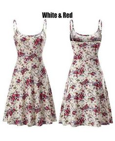 5f3b8b9762be Beach Dresses, Summer Beach, Casual Wear, Cami, Floral Prints, Casual  Clothes