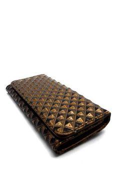 Bronze Textured Checkbook Wallet  #DiscountedPalace #Checkbook