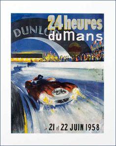 24 Hueres du Mans, 21-22 June 1958