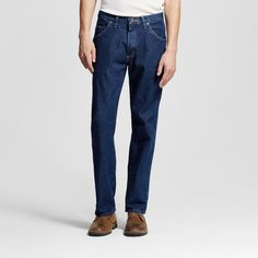Wrangler Men's 5-Star Regular Fit Jeans Midnight Blue 29X34