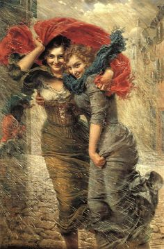 """During the Rain"" by Gaetano Bellei"