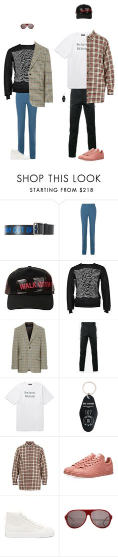 """""""Please Don't Touch My Raf"""" by kevin-whitcanack on Polyvore featuring Raf Simons, Calvin Klein 205W39NYC and adidas"""