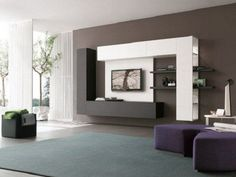 Modern tv wall unit designs for bedroom charming ideas modern cabinet design best ideas about modern wall units on modern built in tv wall unit designs for Modern Tv Cabinet, Modern Tv Wall Units, Wall Units For Tv, Media Cabinet, Wall Unit Designs, Tv Unit Design, Design Living Room, Living Room Tv, Living Area