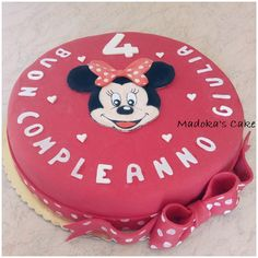 Minnie, chantilly cake with chocolate cips